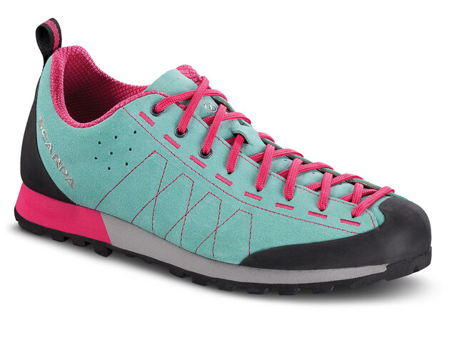Scarpa Highball Zapatillas Mujer, reef water/fuxia